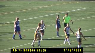 Acton Boxborough Varsity Field Hockey vs Newton South 9/26/13