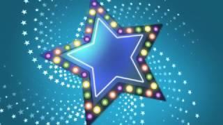 Футаж Фоны со звездами