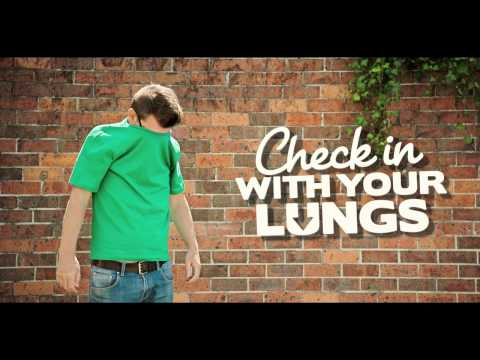 Check In with Your Lungs - 15 second television commercial