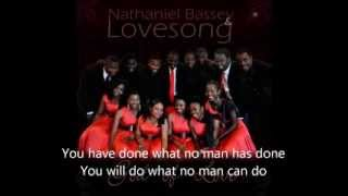 Nathaniel Bassey & Lovesong - No other God [Lyrics video]