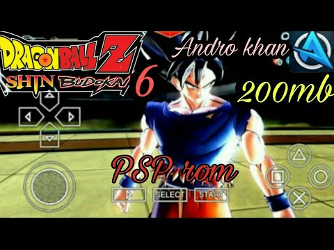 Dragon Ball Super Shin Budokai 6 Psp Rom Free Ppsspp Gold Emulator