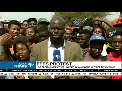 University of Limpopo tense following the arrest of protesting students