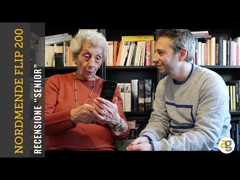91 anni e RECENSISCE il NORDMENDE Flip200S Senior Phone