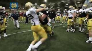 Notre Dame Football Spring Practice Update - March 27, 2013