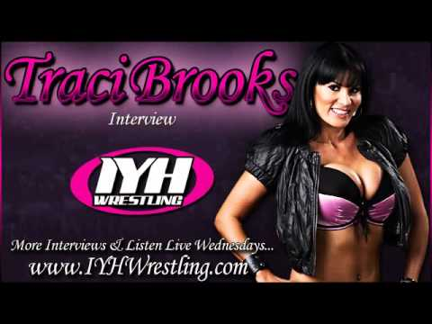 Traci Brooks In Your Head Wrestling Interview