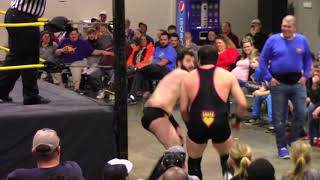 """King"" Rob Love vs. Danny Chance - Bayou Independent Wrestling"
