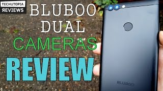 bLUBOO Dual Review/Hands on/Gaming/Benchmark/Sony IMX135 Camera/Battery/Fingerprint/Pros&Cons/Test
