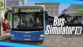 Bus Simulator 16 забавный симулятор водителя автобуса (геймплей, обзор, прохождение)