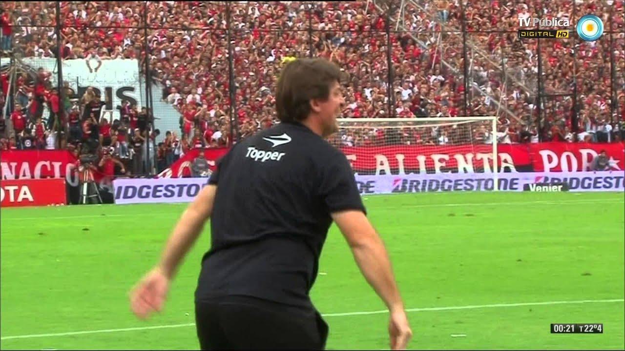 Newells 0 Rosario Central 1 Fútbol Permitido Torneo Final 2014