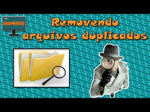 Removendo Arquivos Duplicados Do PC