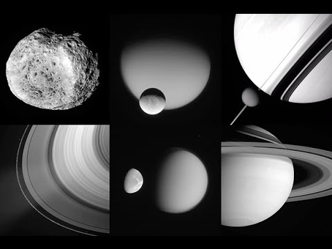 All 341,805 Photos Snapped by NASA's Cassini Space Probe