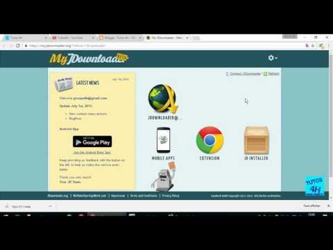 Comment utiliser, paramétrer et télécharger avec Jdownloader 2?