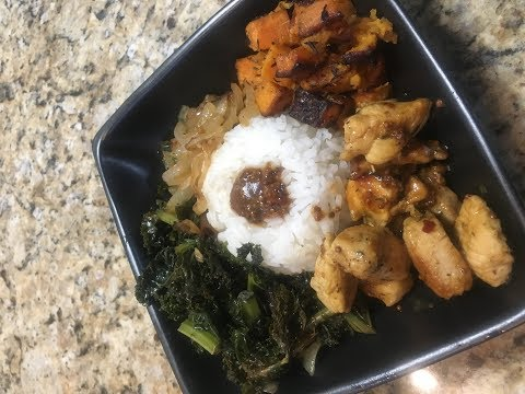 Cooking with Ciera P || Harvest Rice Bowl with Chicken