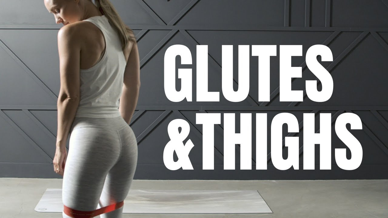 🍑Strong Glutes & Toned Thighs Workout