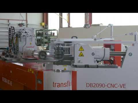 Fully electric CNC mandrel bending machine DB 2090-CNC-VE