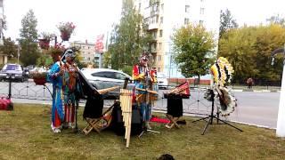 Эквадорские  индейцы в Шатуре!