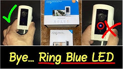 ✅Ring Camera Blue LED Light | Hide Quick and Easy Coverup | Stealth Mode for Stick Up Cam HD Review