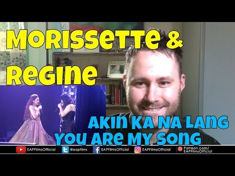 "Morissette Amon & Regine Velasquez ""Akin Ka Na Lang"" ""You Are My Song"" 
