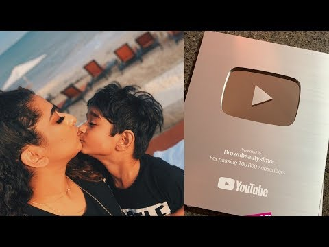 Lets go Home Mommy || Unboxing Silver Play Button || Indian Mom Vlogger