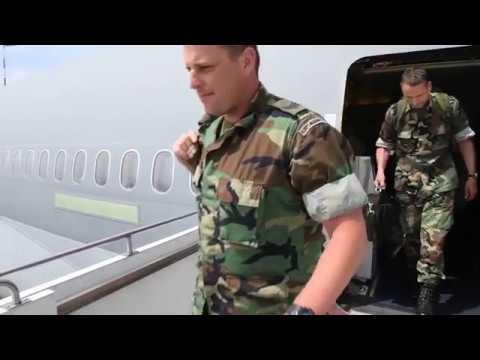 NOBLE JUMP 17 - Dutch troops arrive in Sibiu