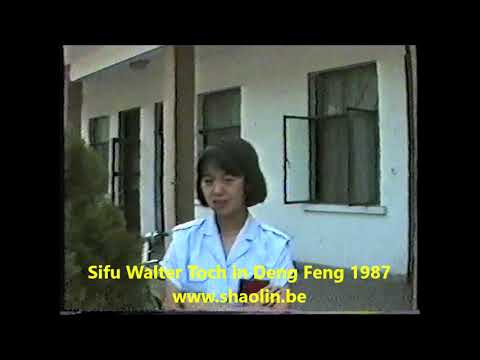 Exclusive video the Building WUSHU Center for all students all over the World bij Walter Toch 1987