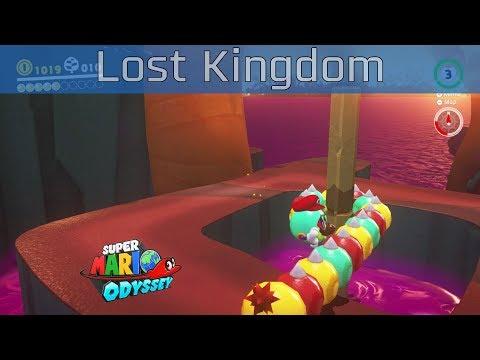 Super Mario Odyssey - Lost Kingdom Walkthrough [HD 1080P/60FPS]