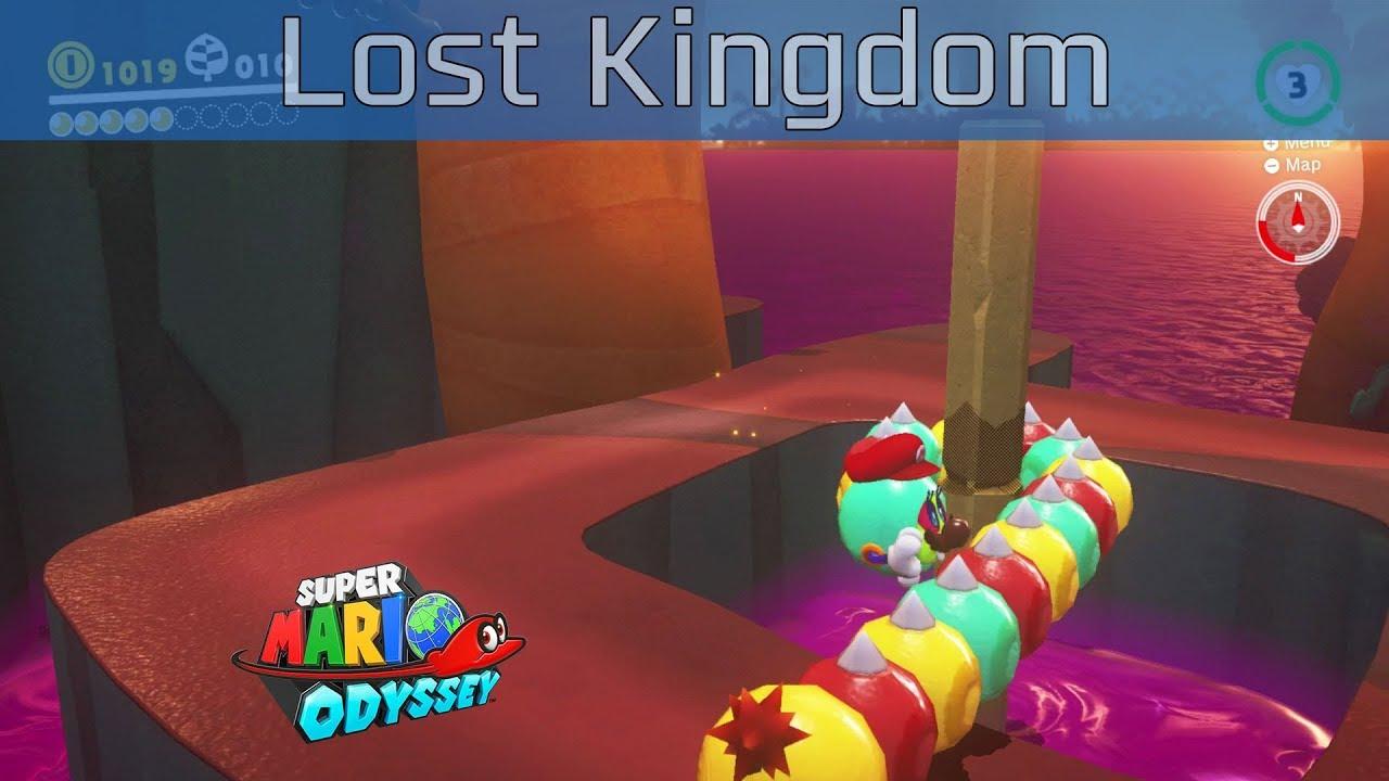 Super Mario Odyssey Lost Kingdom Walkthrough [HD 1080P 60FPS