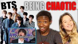 College Girls React to BTS Being Chaotic Crackheads in Award Shows React