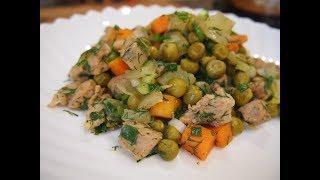 Легко и просто: Свинина с овощами