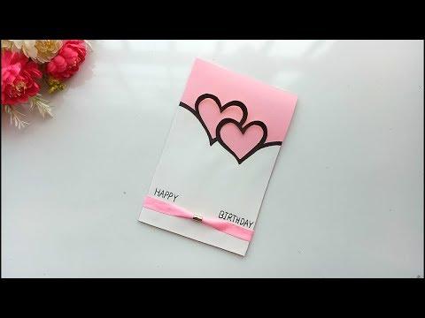 Beautiful Handmade Birthday card idea / DIY Greeting Pop up Cards for Birthday.