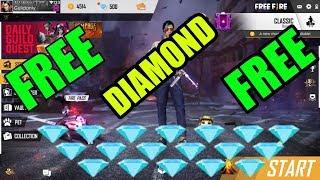 FREE FIRE ME DIAMOND FREE ME KAISE LE 2019, FREE FIRE DIAMOND FREE,