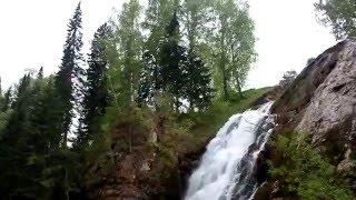 Как выглядит Пещерский водопад в Алтайском крае(Пещерский водопад в Залесовском районе Алтайского края. Снято в мае 2011 года. Автор видео - Н. Белозеров., 2016-03-16T08:06:31.000Z)