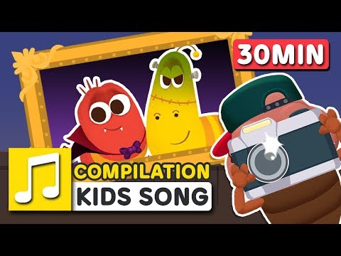 HALLOWEEN MONSTER WORLD 30MIN COMPILATION | LARVA KIDS | SUPER BEST SONGS FOR KIDS |  HALLOWEEN SONG