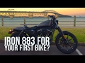 Harley Davidson Iron 883 for a beginner?