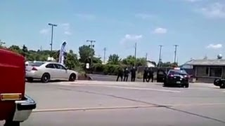 Police Shoot Man Over 40 Times (Video)