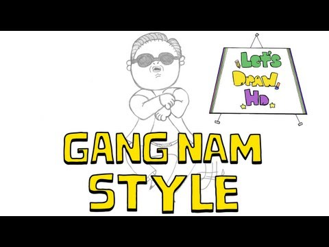 let's-draw-gangnam-style's-psy---let's-draw-hd