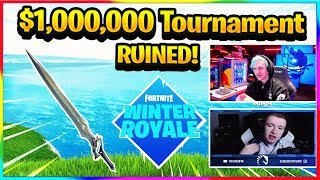 *NEW* PRO PLAYERS ANGRY AT SWORD IN $1,000,000 FORTNITE TOURNAMENT! | Fortnite Highlights