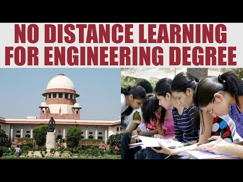 Supreme Court cancels engineering degrees since 2001 through correspondence | Oneindia News