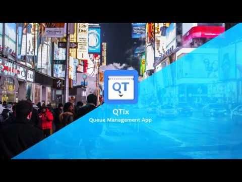 QTix (QueueTix) | Queue Management App