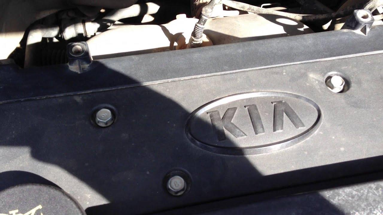 Стук двигателя Kia Cee'd G4FC