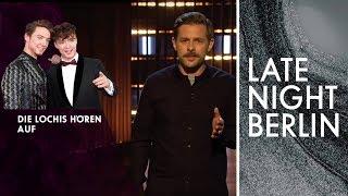 Die Lochis hören auf! Was passiert nach der Trennung? | Stand-Up | Late Night Berlin | ProSieben