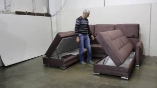 ДИВАН КУТОВИЙ ПОВОРОТНИЙ ОСКАР П тел 89645106747 Unusual sofa transformer