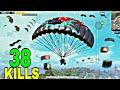 BEST GEORGOPOL LANDING 2 GAME PLAY | SOLO VS SQUAD TOTAL 38 KILLS | PUBG MOBILE