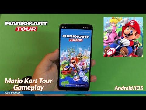 Mario Kart Tour Gameplay (Android/iOS)