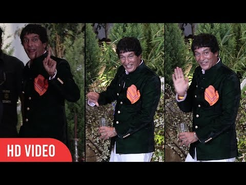 Chunky Pandey Funny Moment at Sonam Kapoor's Wedding Party