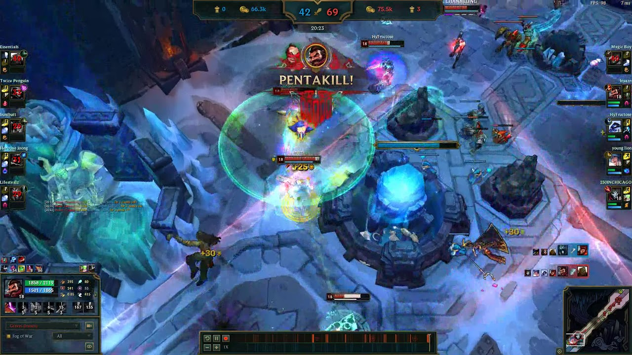 Graves Pentakill 2 Confirmed League Of Legends Aram Insazn S Highlights Youtube Sydney deathcore flag bearers to the grave's objective has always been to create heavy music (sonica. youtube