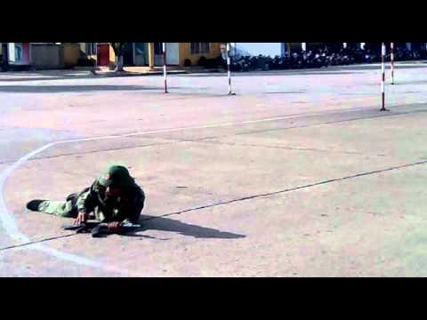 bài thực hành kỹ thuật bắn súng tiểu liên  AK