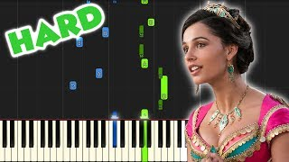 Speechless - Aladdin (Naomi Scott)   HARD PIANO TUTORIAL by Betacustic