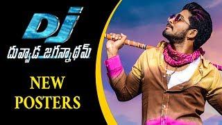 DJ Duvvada Jagannadham New Movie Posters | Latest Telugu Cinema News | Silver Screen