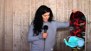 GNU 2016 LADIES CHOICE EC2 BTX SNOWBOARD REVIEW - SOURCEBOARDS.COM